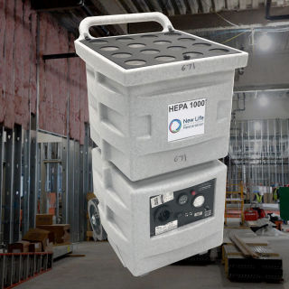 HEPA Air Scrubber Medium Hire - Novair 800 CFM