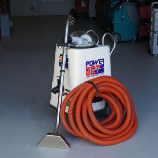 Steam Vac Power Jet Extractor & Carpet Cleaner