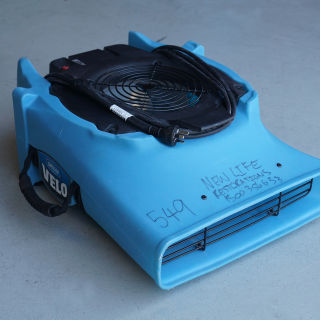 Air Mover Hire (Dri Eaz Velo Low Amp)