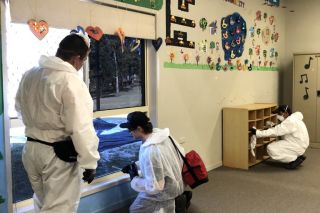 School Flu Decontamination Case Study