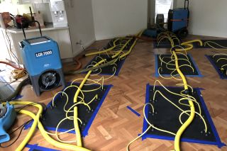 Wood floor Drying Case Study
