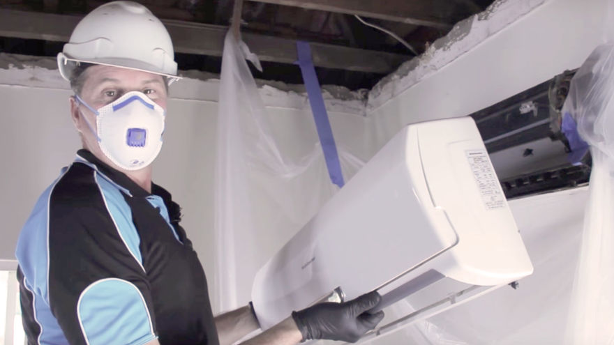 How We Do Air Conditioner Mould Removal